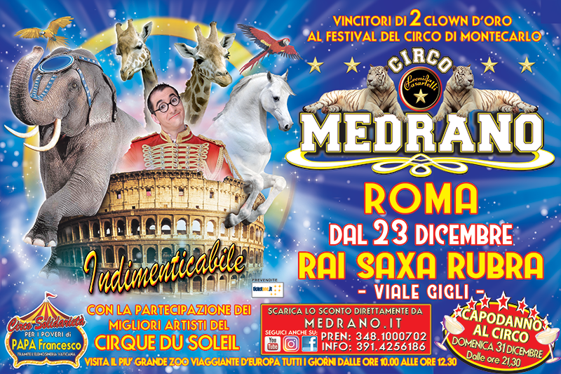 Roma – Dal 23 Dicembre fino al 18 Febbraio – Rai Saxa Rubra – Viale Gigli