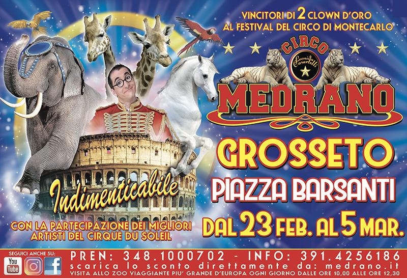 Grosseto 2018 – Piazza Barsanti dal 23/02 al 05/03