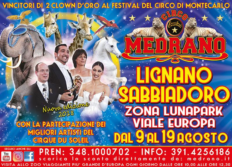 Lignano Sabbiadoro 2018 – Zona Luna Park – Viale Europa – Dal 09 al 19 Agosto