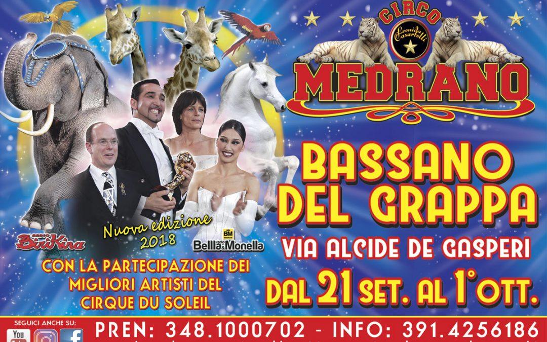 Bassano del Grappa 2018 – Via Alcide De Gasperi – dal 21 Settembre al 1° Ottobre