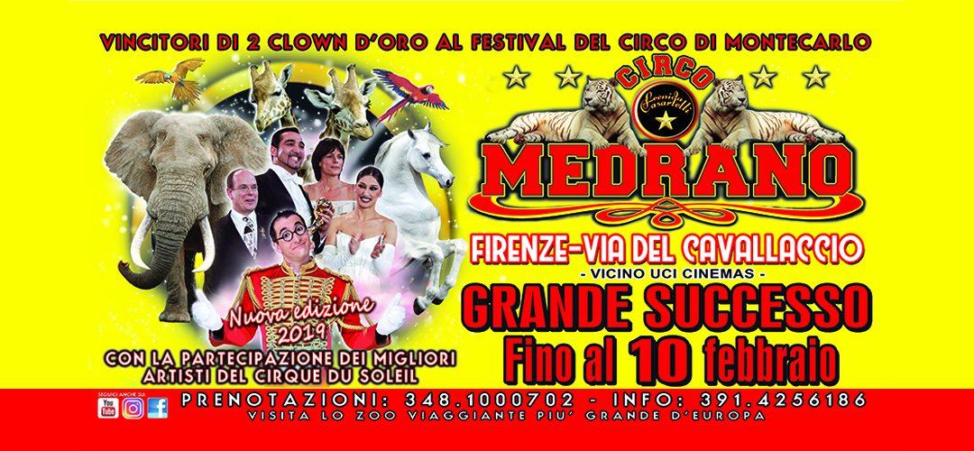 Grande Successo!! Continuano gli spettacoli a Firenze – Via del Cavallaccio – Fino al 10/02/19
